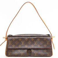 Louis Vuitton Monogram Viva Cite MM Shoulder Bag Brown 5062