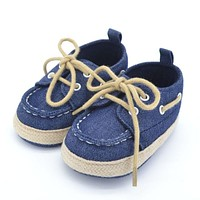 New Spring Autumn Toddler First Walker Baby Shoes Boy Girl Soft Sole Crib Laces Sneaker Prewalker Sapatos