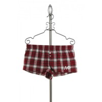 Alpha Phi Boxer Shorts in Maroon