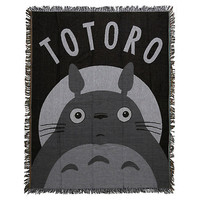 Studio Ghibli My Neighbor Totoro Woven Tapestry Throw Blanket
