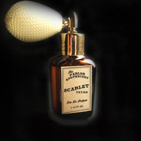Scarlet Fever Perfume Spray - Eau De Parfum  - Atomizer Amber Glass Bottle -1 oz