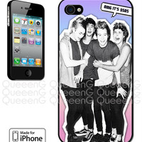 iPhone 4, 4S, 5, 5S, 5C Case 5SOS 5 Seconds of Summer Boy Band Cute Sweet Hot