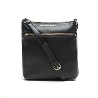 MK Michael Kors Women Leather Satchel Crossbody Shoulder Bag