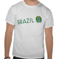 Brazil and Coat of Arms Tees