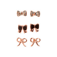 3 Pairs Earrings - from H&M