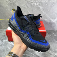 hcxx N1273 Nike Air Max Sequent 4 Utility Flyknit Cushion Sports Casual Running Shoes Black Blue