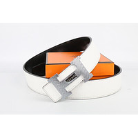Hermes belt men's and women's casual casual style H letter fashion belt587