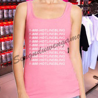 1-800-HOTLINEBLING drake - Tank top Women