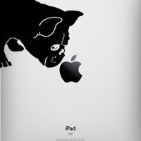 French Bulldog Sniff Decal for Ipad - Fits All Models