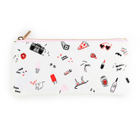 get it together pencil pouch - girls just wanna have fun