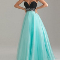 High quality beads organza satin Prom Evening Homecoming Dress