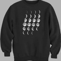 Moon Phases Sweater for Mens Sweater and Womens Sweater *