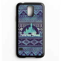 Forever Young Disney Aztec Pattern Samsung Galaxy S5 Case