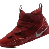 Best Deal Online Nike LeBron Soldier 11 CAVS Red Men Basketball Sneakers Sports Shoes