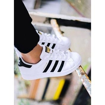 """""""Adidas"""" Women Casual Flats Sneakers Sport Shoes"""