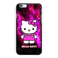 Hello Kitty Purple Galaxy Nebula iPhone 6 Plus Case