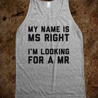 Looking for a Mister