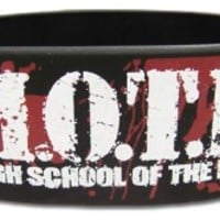 Highschool of the Dead Wristband: Logo PVC