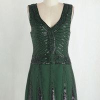 Vintage Inspired Short Length Sleeveless A-line And All That Jazz Dress