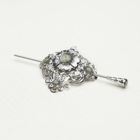 Filigree Metal Bun Holder