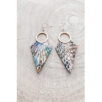 Fly Away From The Crowd Feather Earrings