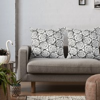 'White roses' Throw Pillow by juliagrifol