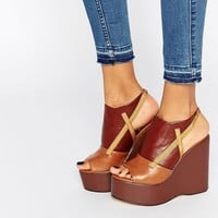 Truffle Collection Calla Platform Wedge Sandals