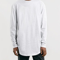 FROST LONGER LENGTH FIT LONG SLEEVE T-SHIRT - Holiday Offer Of The day - Holiday