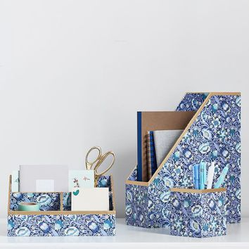 Liberty London Forest Road Desk Accessories, Set of 3
