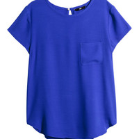 Crêpe Blouse - from H&M