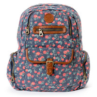 Roxy Ship Out Floral Print Backpack at Zumiez : PDP