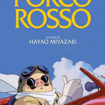 Porco Rosso Anime Movie Poster 11x17