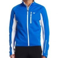 Pearl Izumi Men's Elite Softshell Jacket,True Blue/White,Large