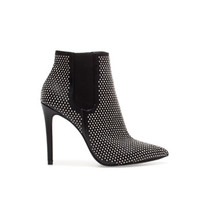 HIGH-HEEL ANKLE BOOT WITH STUDS