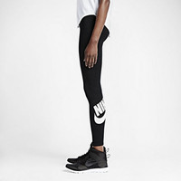 Nike Pro Leg-A-See Logo JDI Leggings Black White NWT 615049-015 Compression