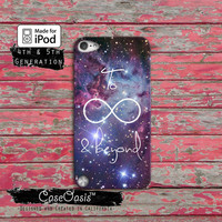 To Infinity and Beyond Tumblr Disney Toy Story Cute Space Case iPod Touch 4th Generation or iPod Touch 5th Generation Rubber or Plastic Case