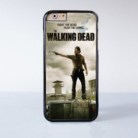 The Walking Dead Fight Dead Fear M Plastic Case Cover for Apple iPhone 6 6 Plus 4 4s 5 5s 5c
