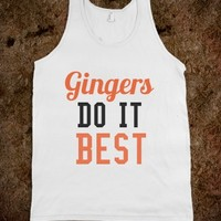 Gingers Do It Best Tank Top