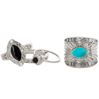 Hotel California Ring Set - Silver