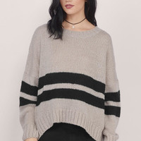 All About Stripes Knit Sweater