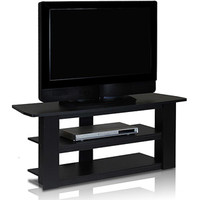 """Walmart: Furinno 12186 Parsons TV Entertainment Center for TVs up to 42"""", Black"""