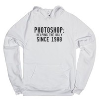 Since 1988.-Unisex White Hoodie