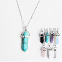 Natural Semi-Precious Stone Necklace