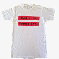 Mirrored T-Shirt, White from Bad Suns