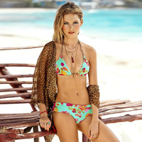 Hot Swimsuit New Arrival Summer Sexy Beach Leopard Floral Bikini [11739596623]