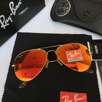 Ray Ban Fashion Sunglasses RB3025 Gold/Orange