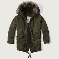 Premium Sherpa Lined Parka