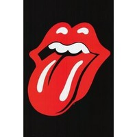 (24x36) Rolling Stones (Tongue) Music Poster Print