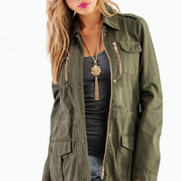 At Ease Army Jacket $61
