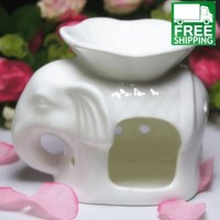 Ceramic Incense Essential Oil Diffuser and Candle Lamp with Different Designs